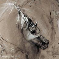 Vrouwen, stillevens en paarden